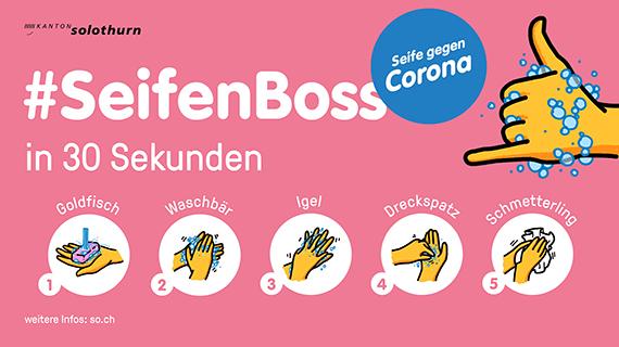 #SeifenBoss musikalische Händewasch-Anleitung